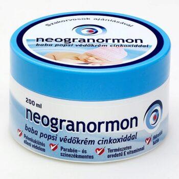 Neogranormon Védőkrém cinkoxiddal - 200ml