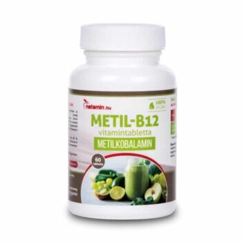Netamin Metil B12-vitamin tabletta - 60db