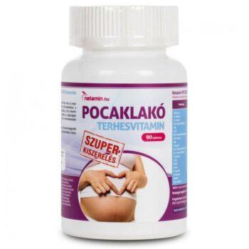 Netamin Pocaklakó terhesvitamin Szuper kiszerelés - 90db