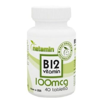 Netamin B12-vitamin tabletta - 40db