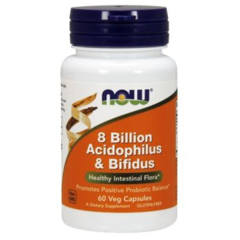 Now Acidophilus és Bifidus kapszula - 60db