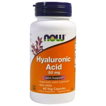 Now Hyaluronic Acid (Hyaluronsav) kapszula - 60db