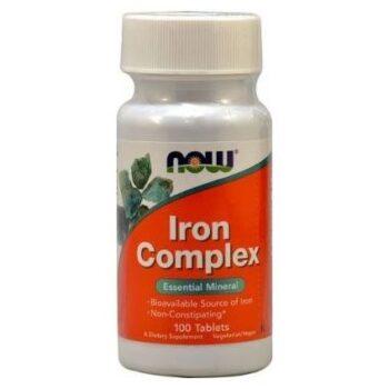 Now Iron Complex (Vas) tabletta - 100db