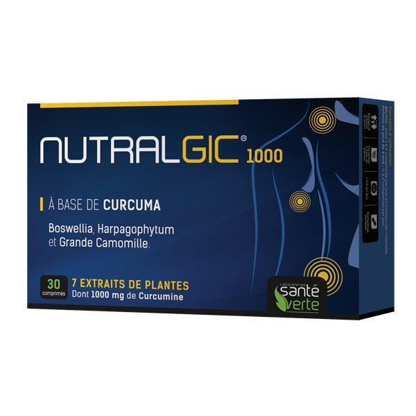 Nutralgic 1000 fájdalomcsillapító és gyulladáscsökkentő tabletta - 30db
