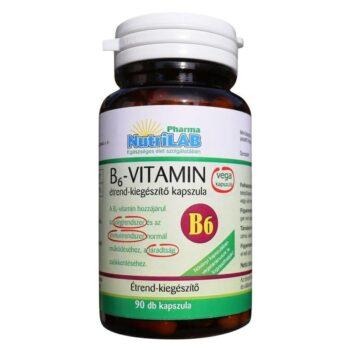 Nutrilab B6-vitamin kapszula - 90db
