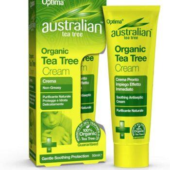 Optima antiszeptikus ausztrál teafa krém – 50ml