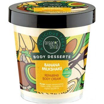 Organic Shop ''Banán shake'' regeneráló testápoló - 450ml