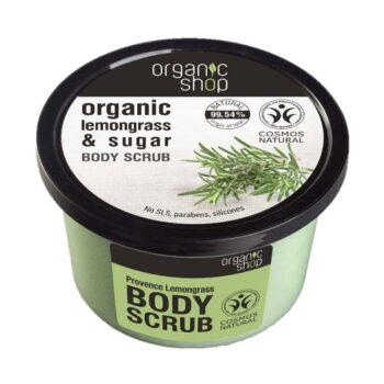 Organic Shop Provance-i cukros citromfüves testradír - 250ml