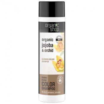 Organic Shop Színvédő sampon bio jojobával és orchideával - 280ml