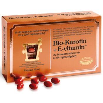 Pharma Nord Bio Karotin + E-vitamin kapszula - 60db