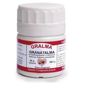 Pharmaforte Gralma gránátalma kapszula - 60db