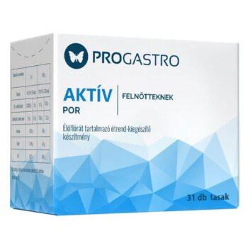 Progastro Aktív Élőflórát tartalmazó étrend-kiegészítő por - 31 tasak