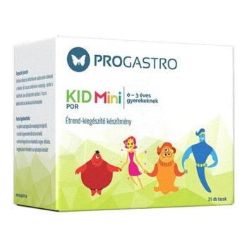Progastro Kid Mini élőflórát tartalmazó italpor 0-3 éves gyermekeknek - 31db