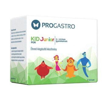Progastro Kid Junior élőflórát tartalmazó italpor 3-12 éves gyermekeknek - 31db