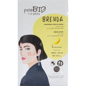 puroBIO Brenda krém arcmaszk banánnal - 10ml
