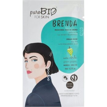 puroBIO Brenda krém arcmaszk zöld szőlővel - 10ml