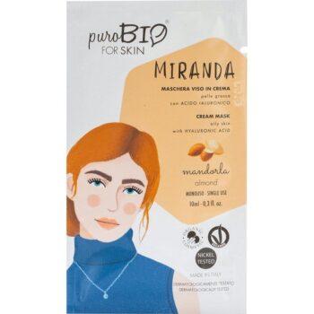 puroBIO Miranda krém arcmaszk mandulával - 10ml