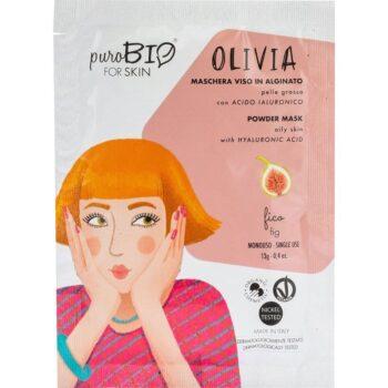 puroBIO Olivia poralapú lehúzható arcmaszk fügével - 13g