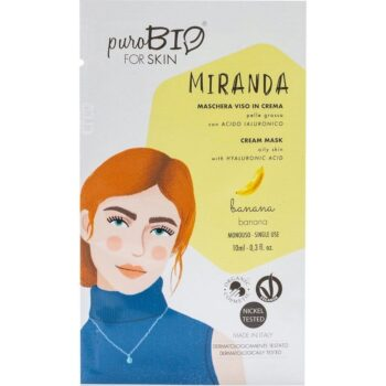 puroBIO Miranda krém arcmaszk banánnal - 10ml