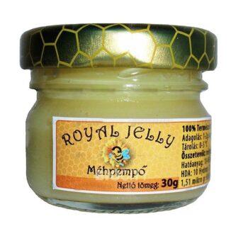 Royal jelly természetes méhpempő - 30g