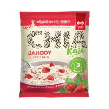 Semix zabkása eper-chia mag-tejszín - 65g