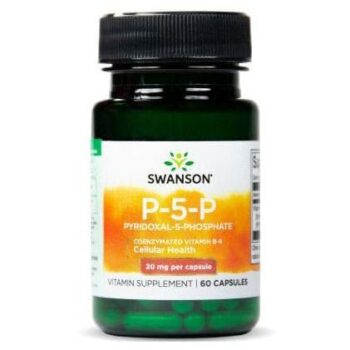 Swanson B6-vitamin P-5-P kapszula - 60db