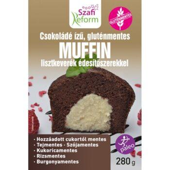 Szafi Reform Étcsokoládé ízű muffin lisztkeverék - 280g