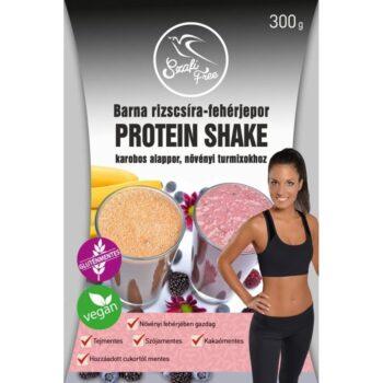 Szafi Free Protein shake barna rizscsíra fehérjepor - 300g