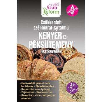 Szafi Reform szénhidrát csökkentett kenyér és péksütemény lisztkeverék - 1000g