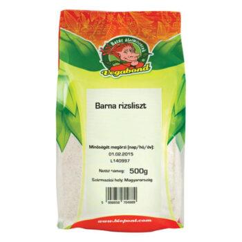 Vegabond barna rizsliszt - 500g