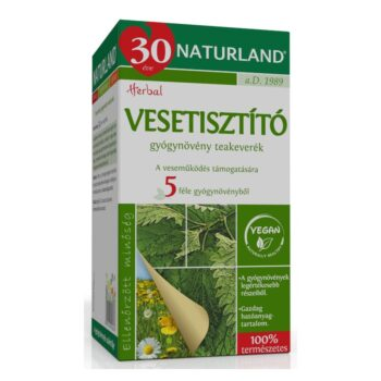 Naturland vesetisztító tea - 20 filter