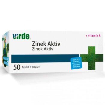 Virde Cink Aktív  tabletta - 50db