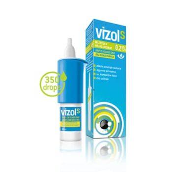 Vizol S 0,21% oldatos szemcsepp - 10ml