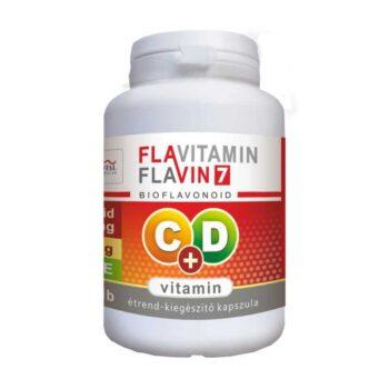Vita Crystal Flavitamin C+D C-vitamin 500mg + D-vitamin 2000NE kapszula – 100db