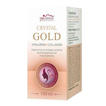 Vita Crystal Gold Hyaluron + Collagen multivitaminnal - 100ml