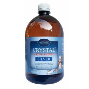 Crystal NTR+PWR Silver víztisztító berendezésen szűrve Grapefruitmag-kivonattal - 1000ml