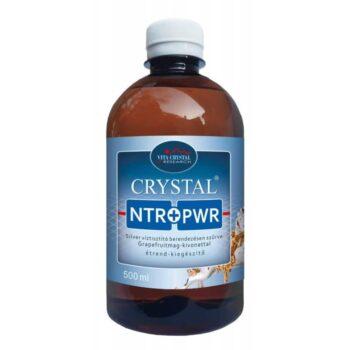 Crystal NTR+PWR Silver víztisztító berendezésen szűrve Grapefruitmag-kivonattal - 500ml