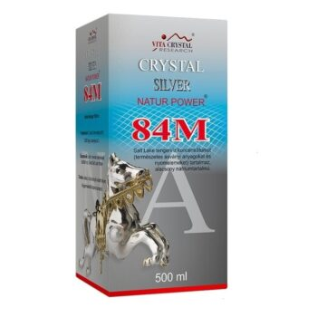 Crystal Silver Natur Power 84M - 500 ml