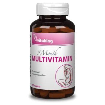Vitaking 9 Month Kismama Multivitamin tabletta - 60db