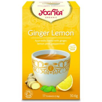 Yogi Bio citromos gyömbér tea - 17 filter/doboz