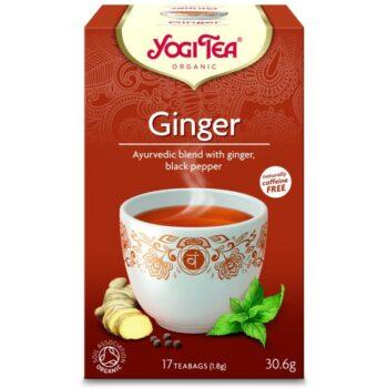 Yogi Bio gyömbér tea - 17 filter/doboz