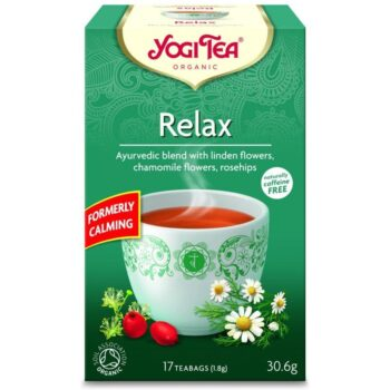 Yogi Bio Relax nyugtató tea - 17 filter/doboz