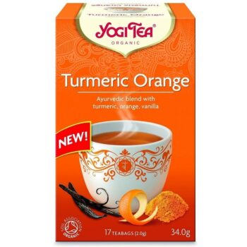 Yogi Bio Kurkuma narancs tea - 17 filter