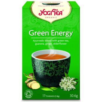 Yogi Bio zöld energia tea - 17 filter/doboz