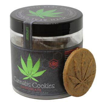 Euphoria Cannabis Cookies Chocolate dobozos keksz - 110g