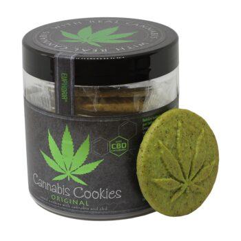 Euphoria Cannabis Cookies Original dobozos keksz - 110g