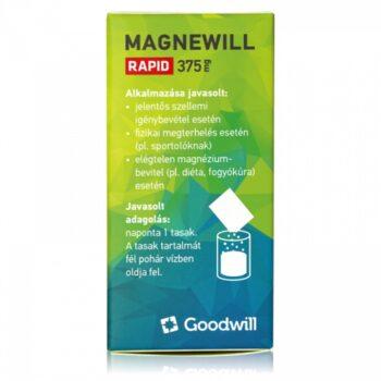 Goodwill Magnewill Rapid 375mg por - 20 tasak