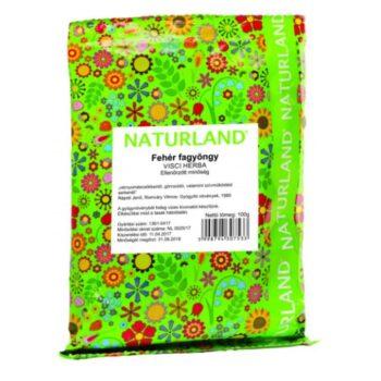 Naturland fehér fagyöngy tea szálas - 100g