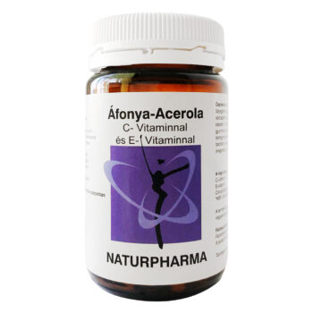 Naturpharma Áfonya-acerola kapszula - 60db