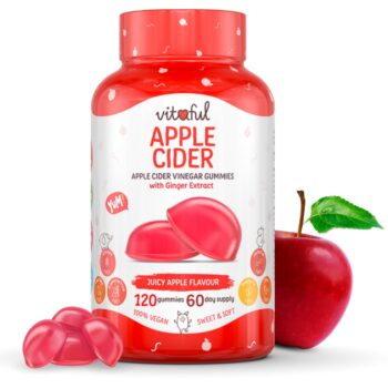 Vitaful Apple Cider Almaecet gumivitamin - 120db